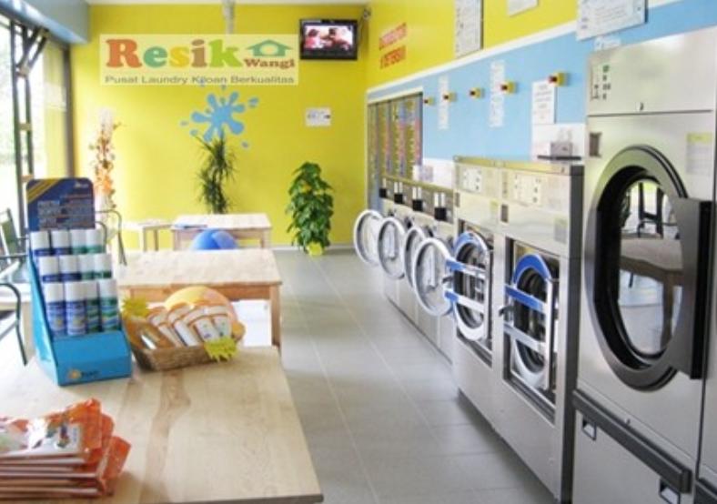 Membuka usaha laundry antar jempur segmen rumahan