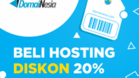 beli hosting di domainesia